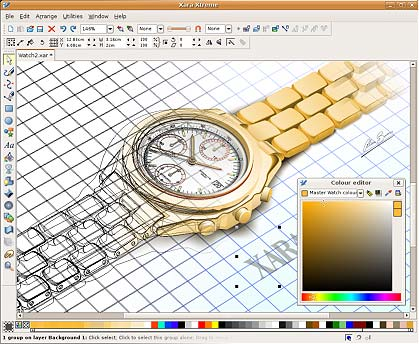 Xara Xtreme - grafica open source